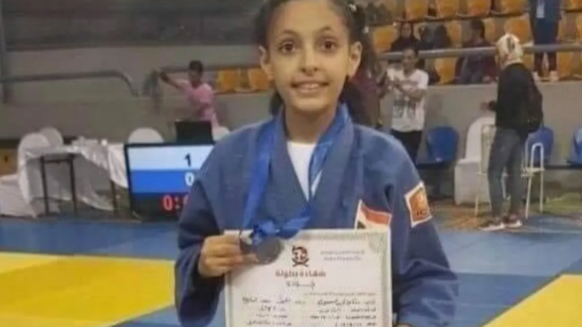 The 12-year-old shocked Egypt.. Judo karate girl swallowed her tongue and died