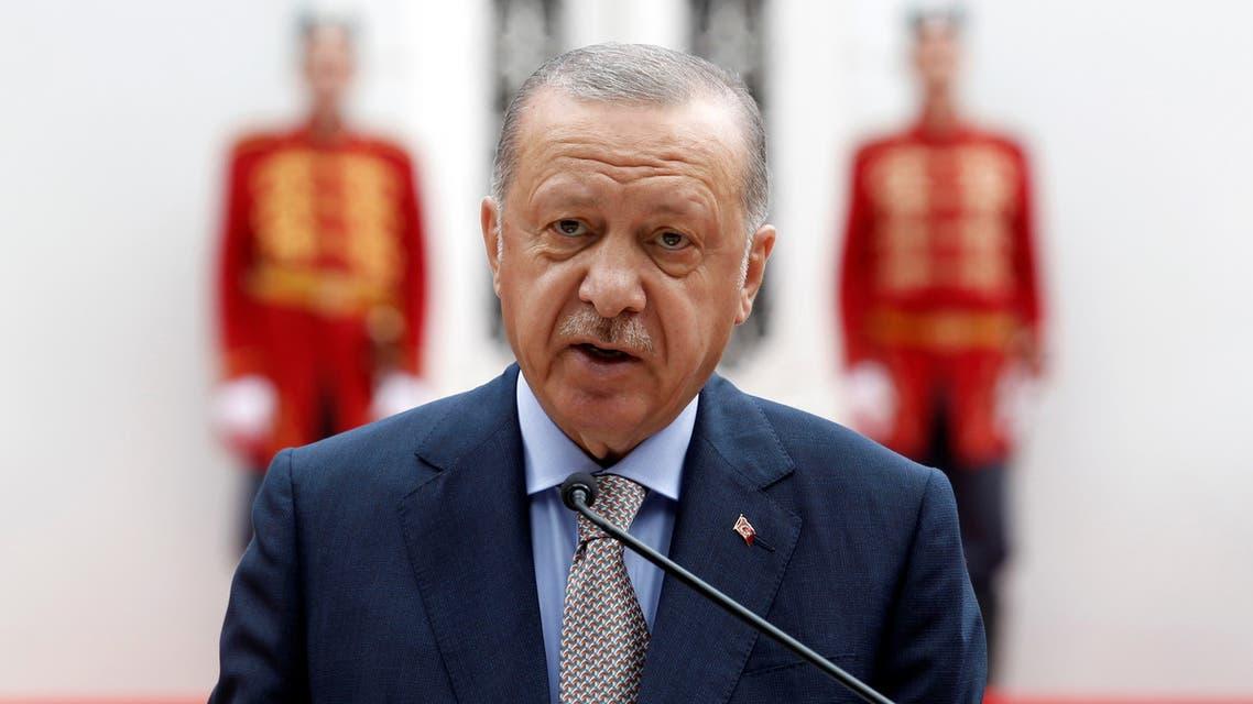 الرئيس التركي (رويترز)