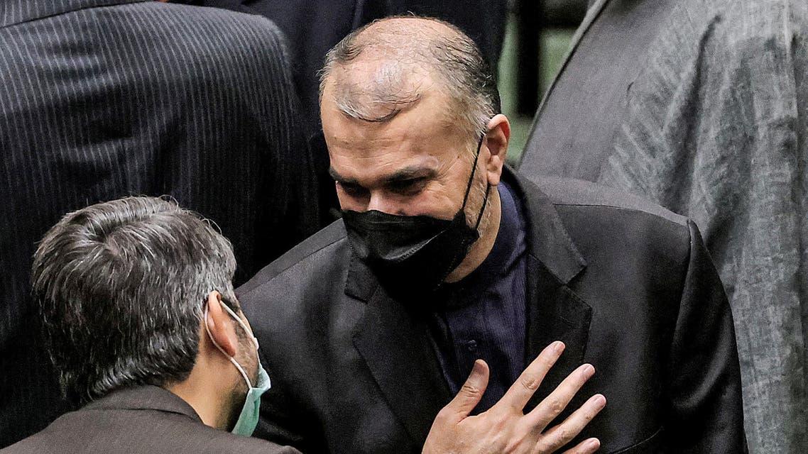 وزير خارجية إيران حسين أمير عبداللهيان(أرشيفية- فرانس برس)