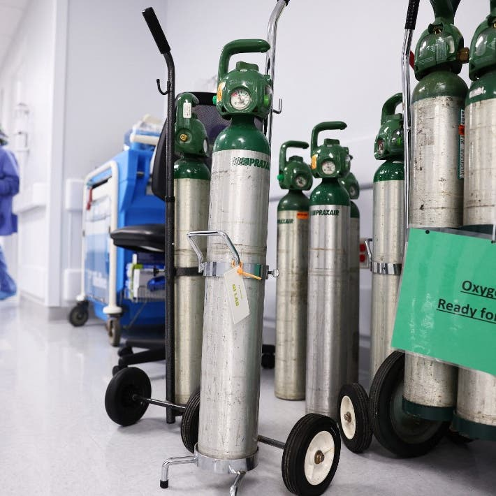 Hospitals in US South are running low on oxygen amid high COVID-19 hospitalizations