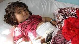طفلة جريحة إثر إنفجار لغم