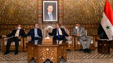 Iran and Syria vow to confront US sanctions