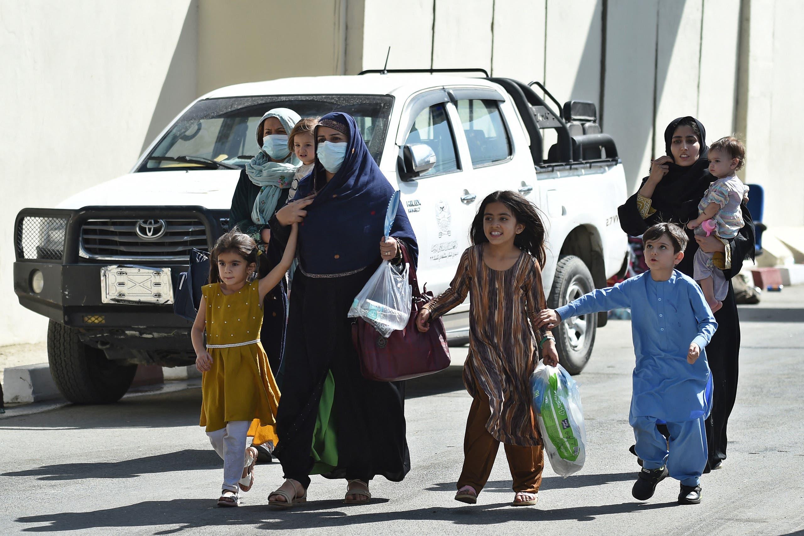 من مطار كابل (أرشيفية - فرانس برس)