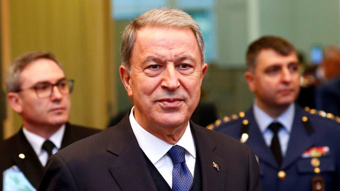 وزير الدفاع التركي خلوصي أكار (أرشيفية - رويترز)