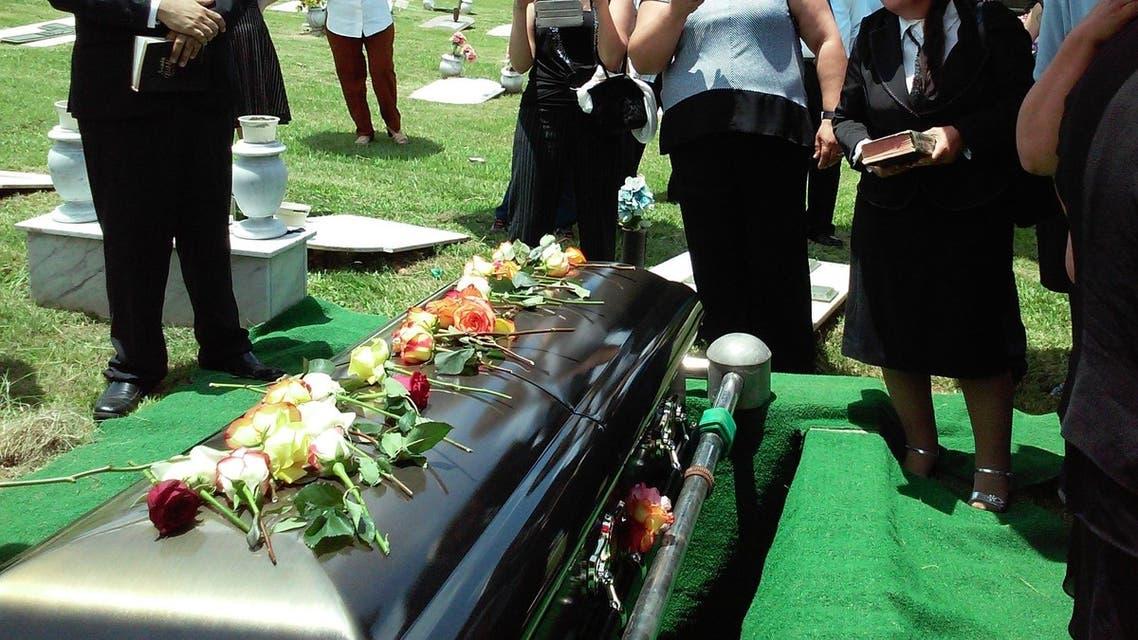A funeral coffin. (File photo: Rhodi Lopez/Unsplash)