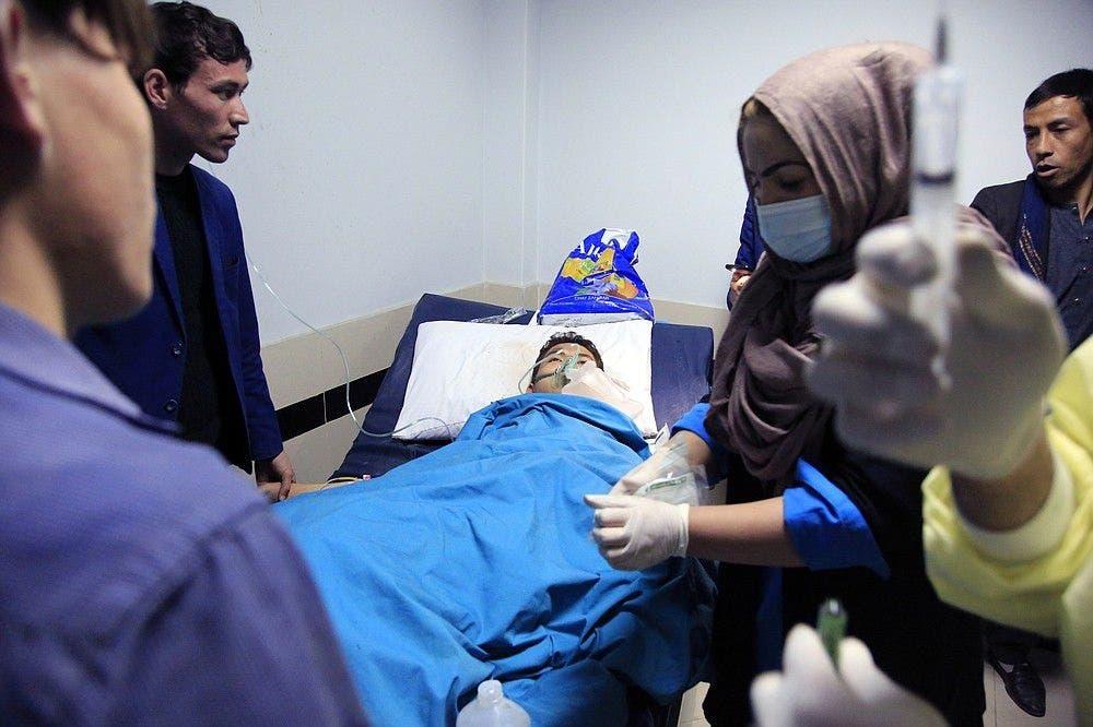 طفل من ضحايا تفجير المطار