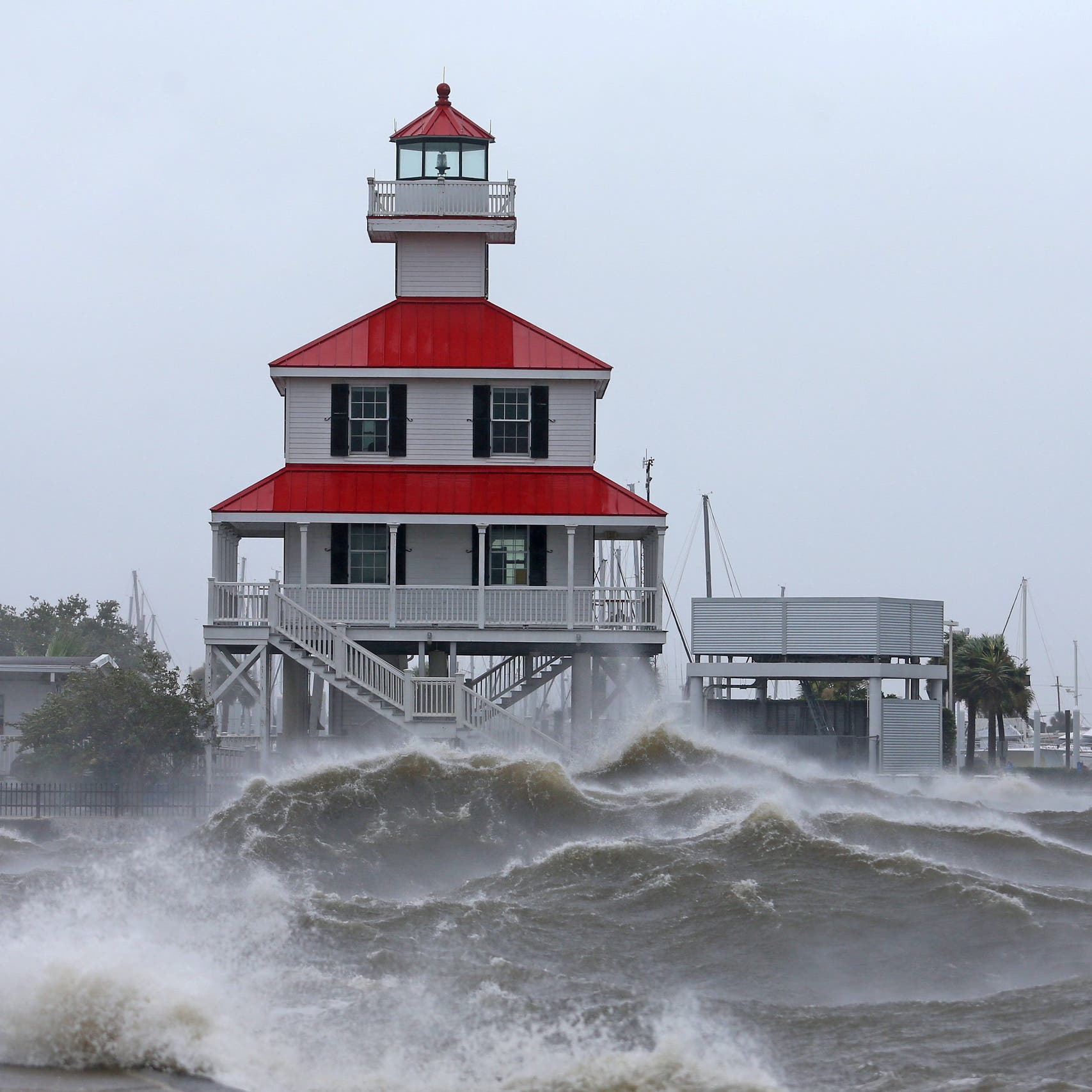 Giant Hurricane Ida strikes US shoreline, forces Mississippi river to flow backwards