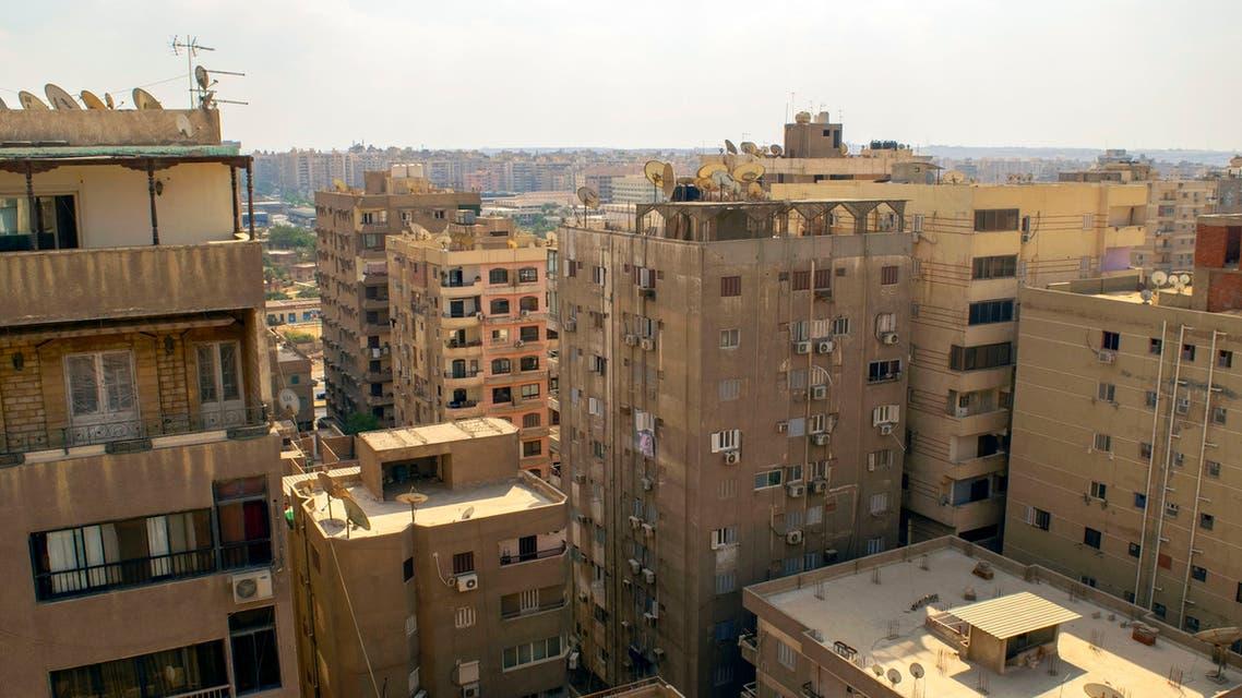 صورة عامة من مدينة نصر في القاهرة مصر -آيستوك