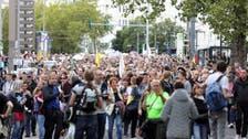 اعتراض هزاران نفر در برلین علیه محدودیتهای کرونایی