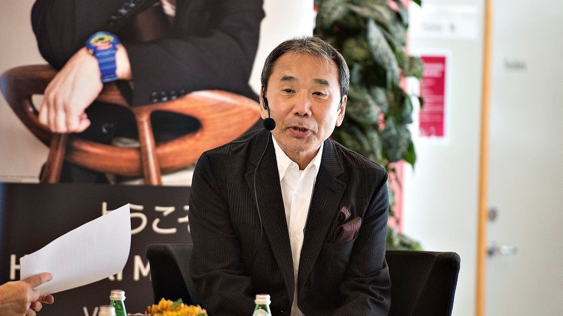 Japanese writer Haruki Murakami attends an reading event at Odense Library in Odense, Denmark. (File photo: Reuters)