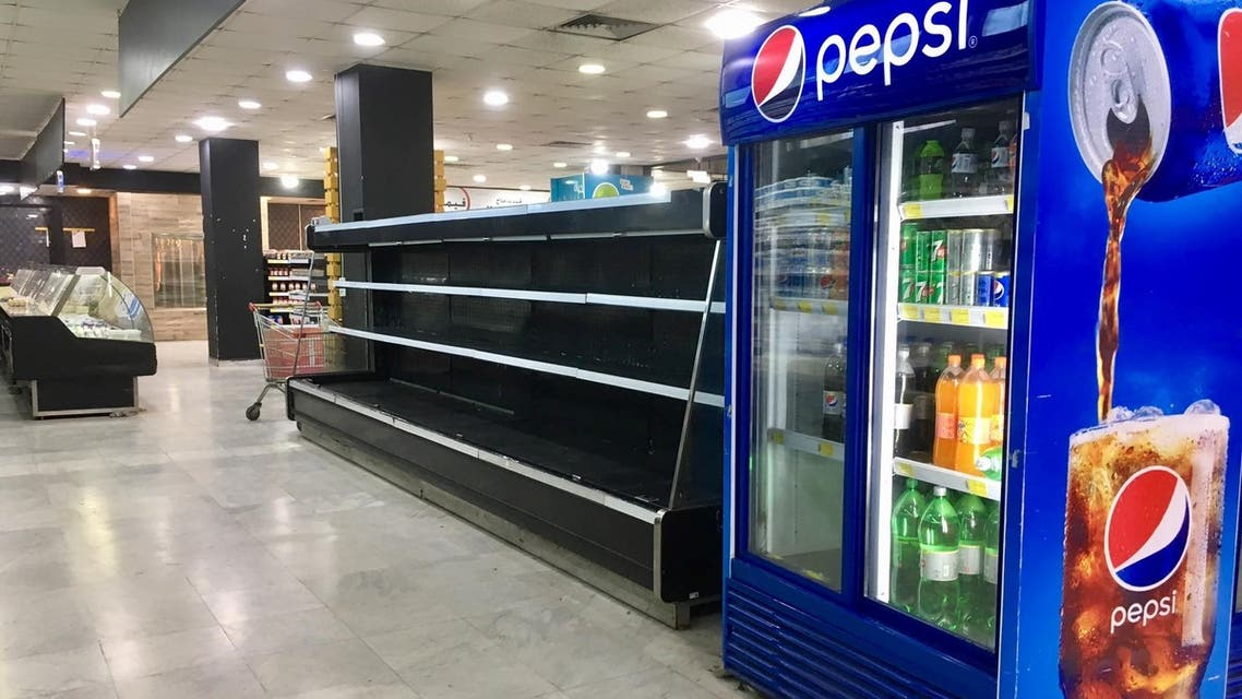 Many Lebanese supermarkets and stores have had to throw away their stocks of refrigerated and frozen foods, unable to keep them from spoiling. (Image: Robert McKelvey)