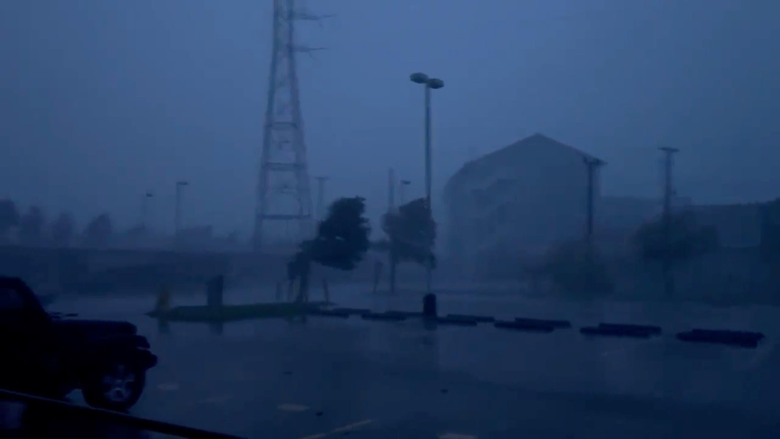 الاعصار إيدا (رويترز)