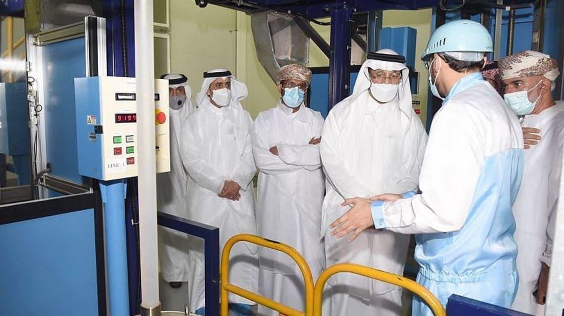 وزير الاستثمار السعودي يزور المؤسسة العامة للمناطق الصناعية مدائن بسلطنة عمان