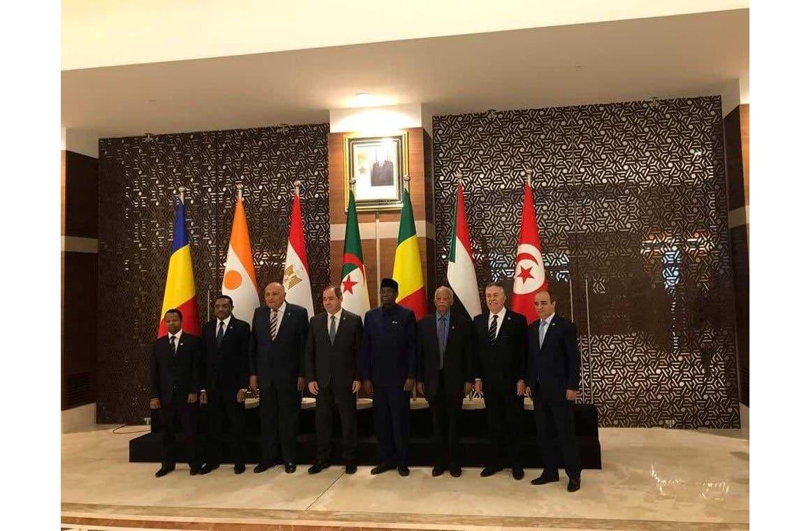 من اجتماع سابق لوزراء خارجية جوار ليبيا