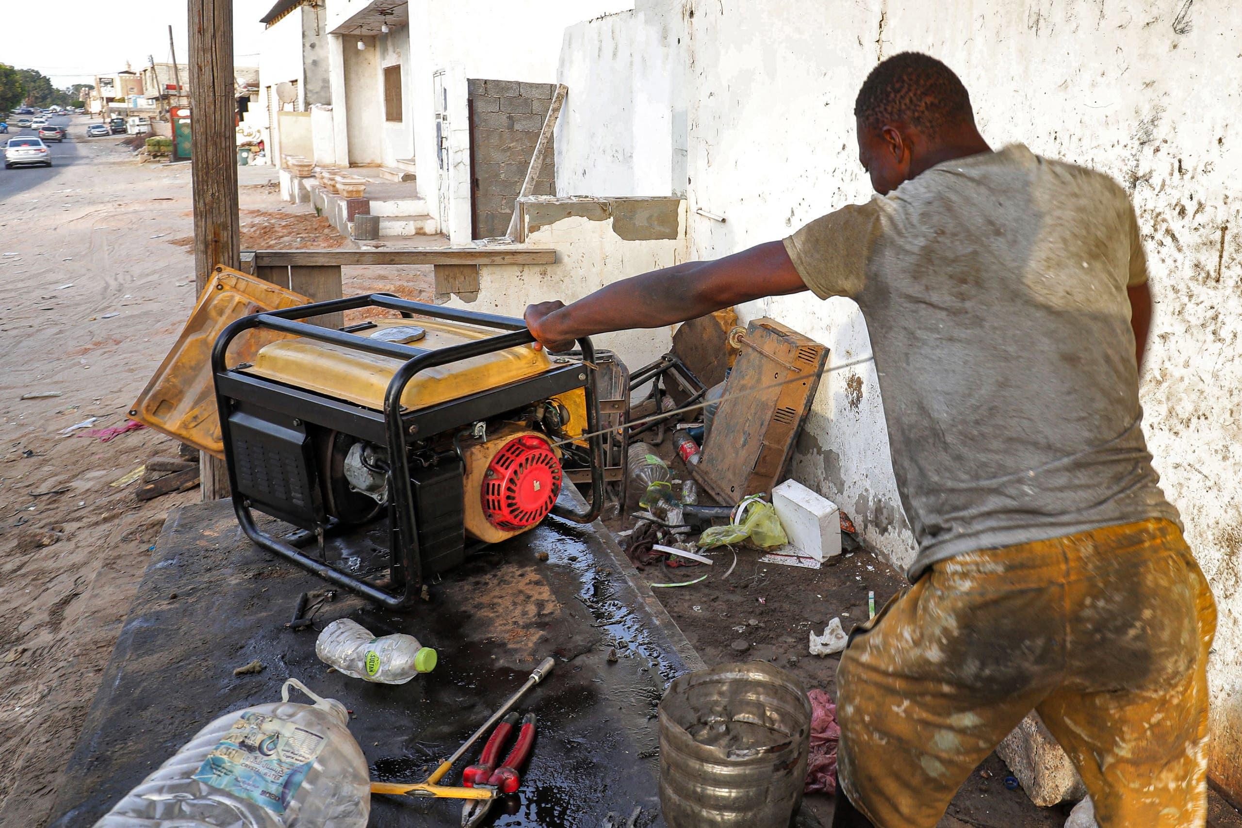 انقطاع الكهرباء مستمر في ليبيا (فرانس برس)