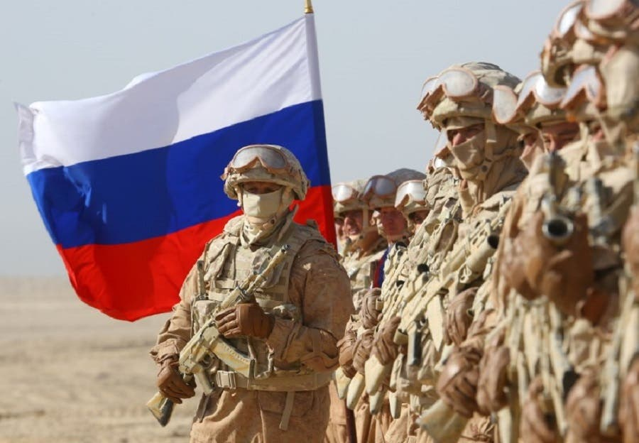 Russian forces take part in military exercises near the border between Tajikistan and Afghanistan on August 10, 2021. (Reuters)