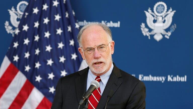 روس ويلسون سفير الولايات المتّحدة في كابل