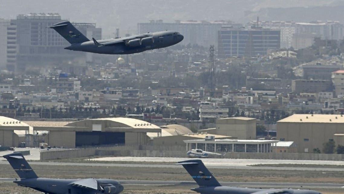 الرحلة الأخيرة من مطار كابل