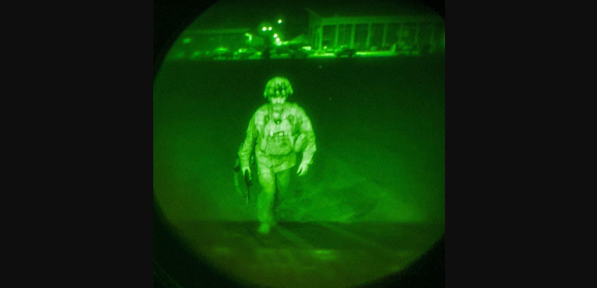 آخر جندي أميركي يغادر أفغانستان ليل الثلاثاء