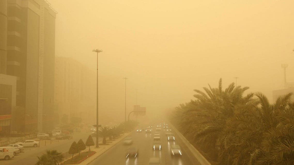 A view of King Fahad Street in central Riyadh March 10, 2009. (Reuters)