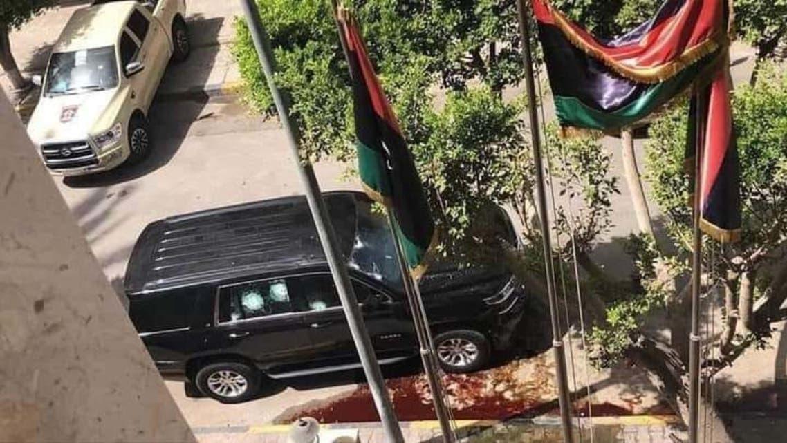 - مقر هيئة الرقابة الإدارية بالعاصمة طرابلس