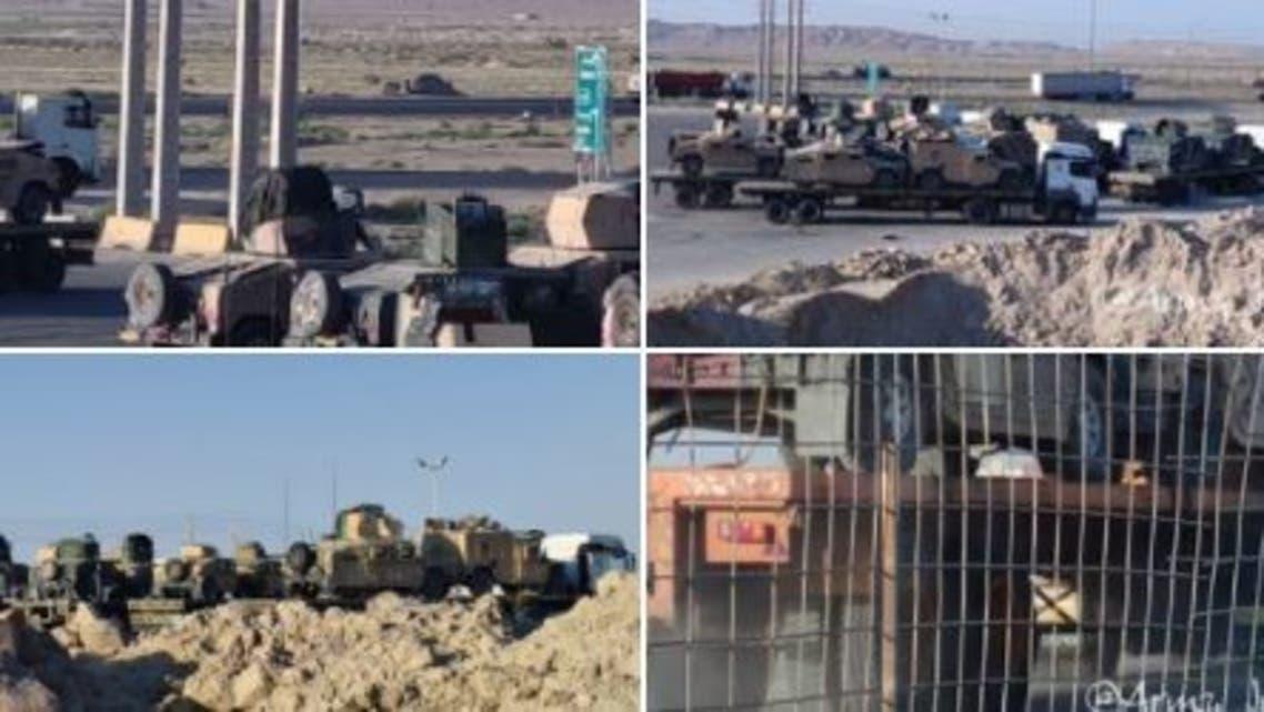تهريب مدرعات أميركية من أفغانستان الى إيران