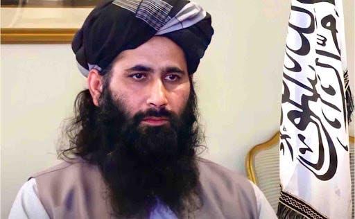محمد نعيم المتحدث باسم المكتب السياسي لحركة طالبان