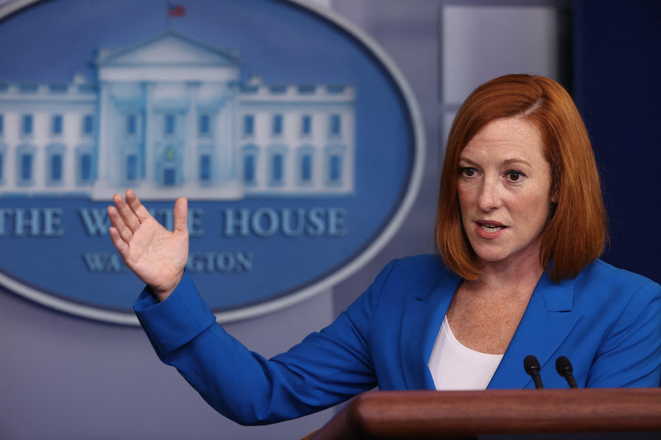المتحدثة باسم البيت الأبيض جاين ساكي