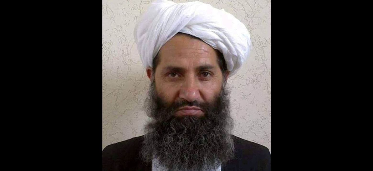 Taliban supreme leader Haibatullah Akhundzada is seen in an undated photograph, posted on a Taliban twitter feed on May 25, 2016. (File photo: Reuters)