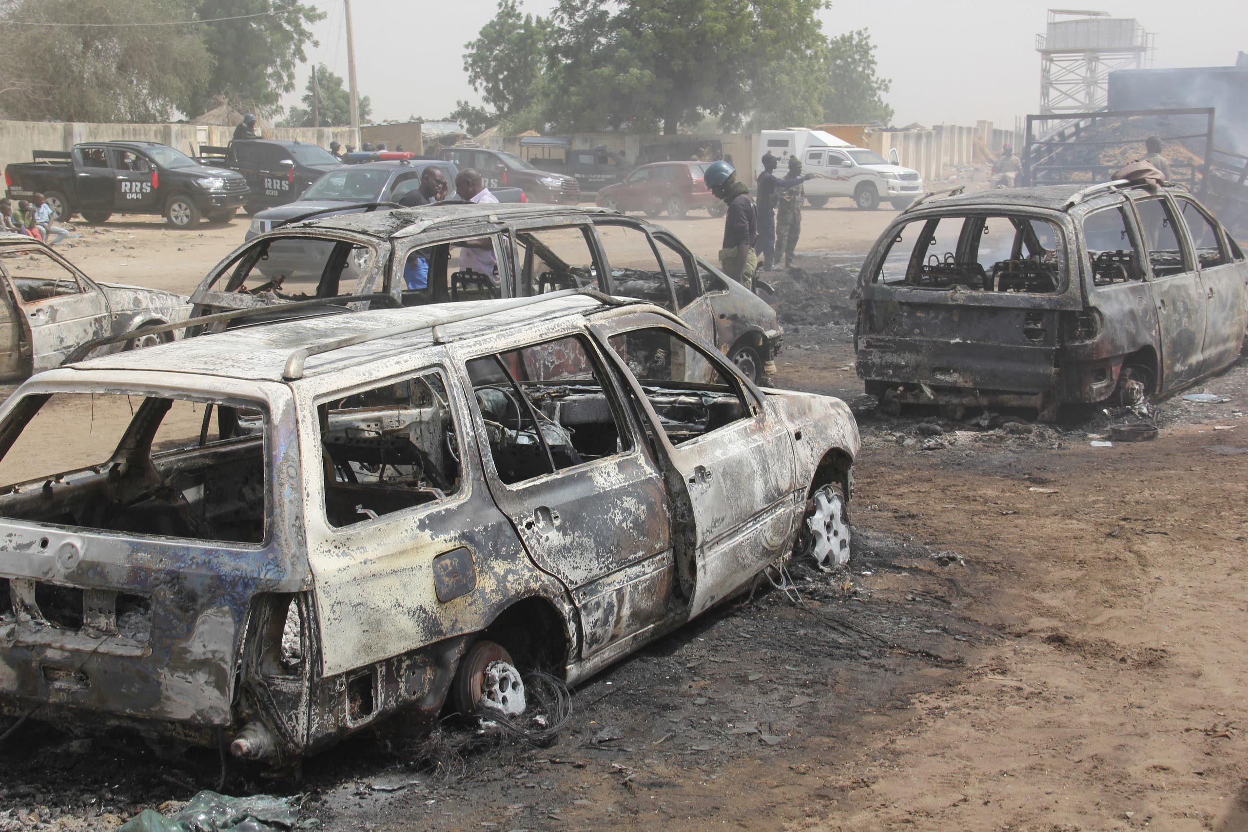 The previous ISIS attack in northeastern Nigeria (archive)