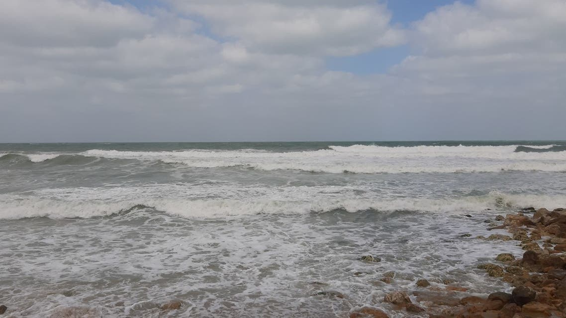 View of shore in Alexandria from Casino El-Shatbi. (Credit Nada Mahmoud)