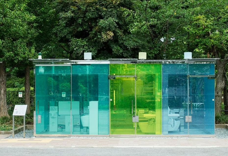 Public toilets like you've never seen them before .. you don't have to touch anything