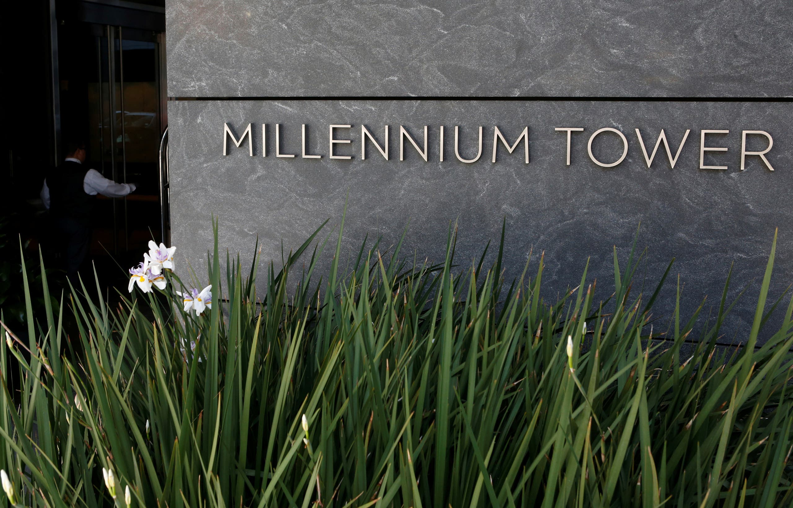 The Millennium Tower is pictured in San Francisco, California, US On September 14, 2016. (Reuters)