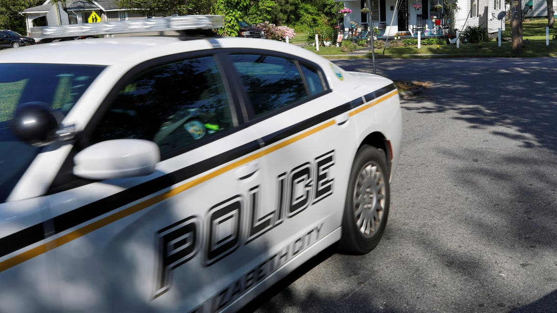 A city police car patrols in Elizabeth City, North Carolina, U.S., April 27, 2021. (Reuters)