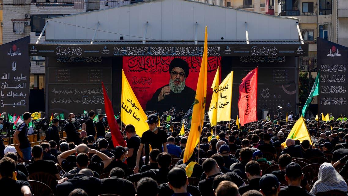 زعيم حزب الله حسن نصر الله (أسوشييتد برس)