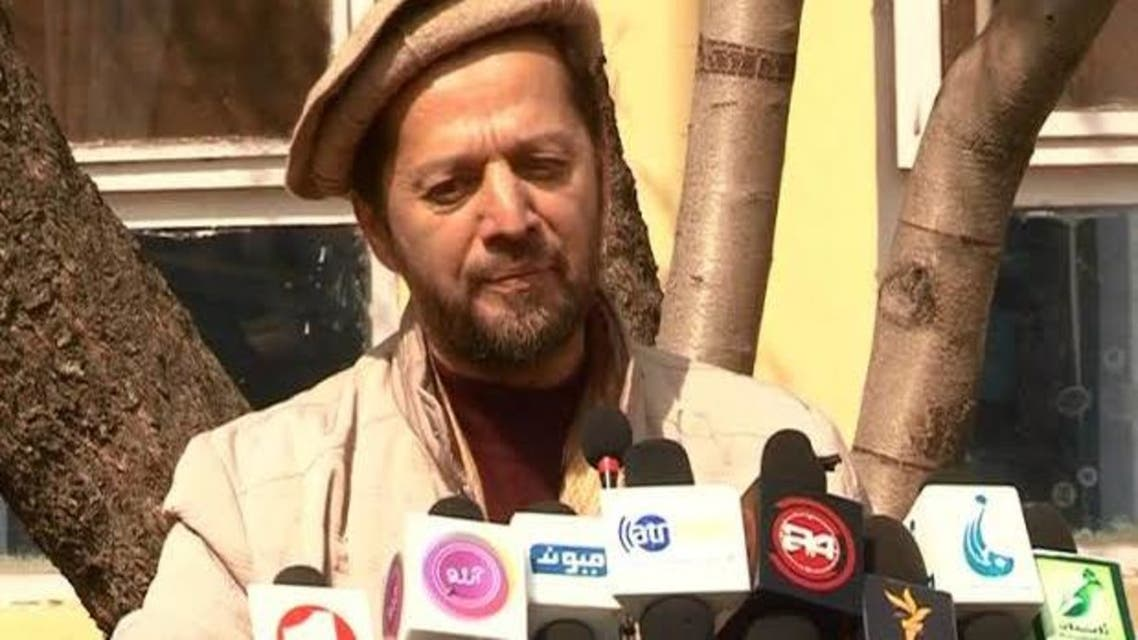 فهیم دشتی، سخنگوی جبهه مقاومت ضد طالبان