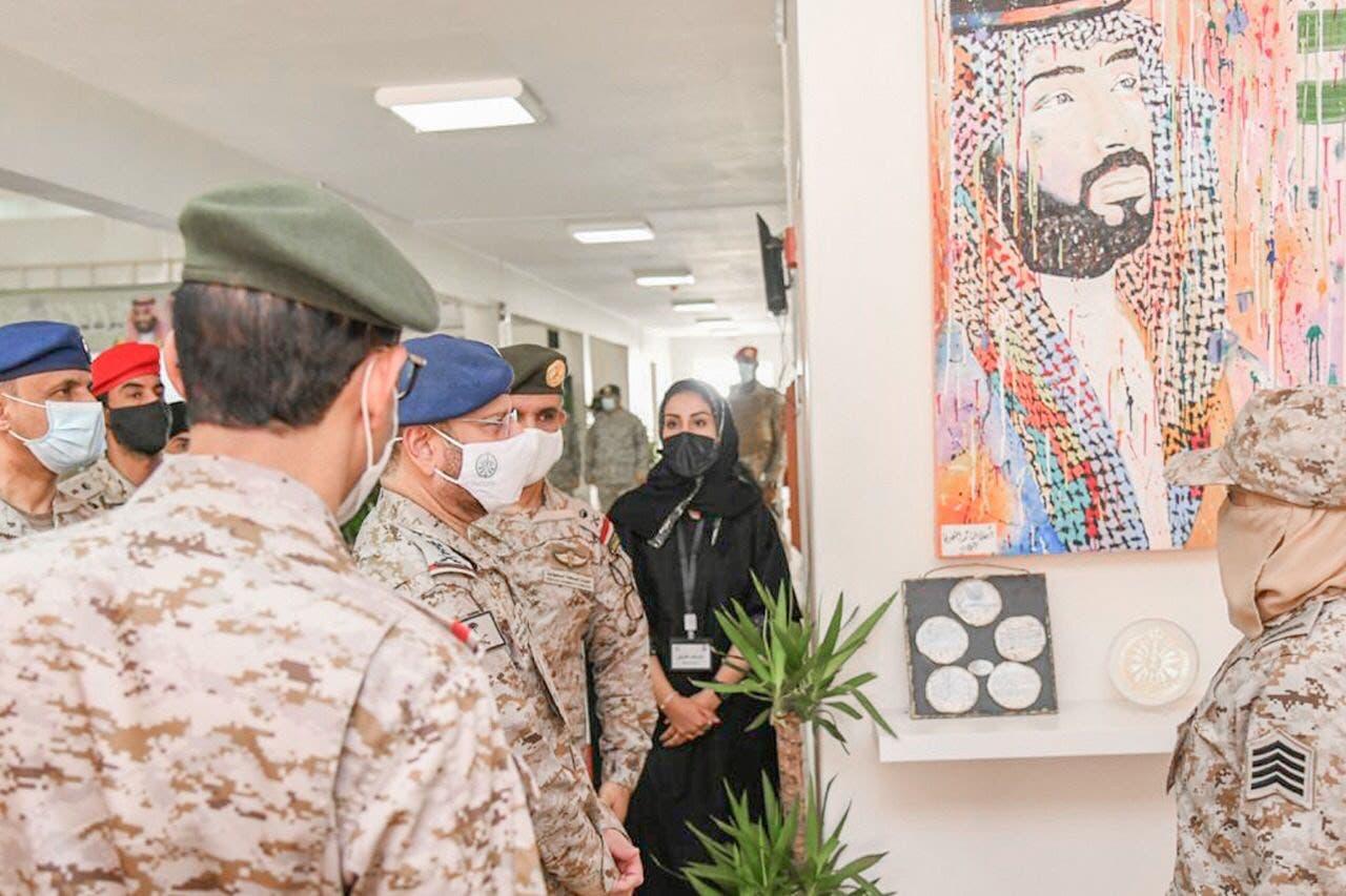 سعودی مسلح فوج میں شامل ہونے والا خواتین کیڈٹس کا پہلا دستہ