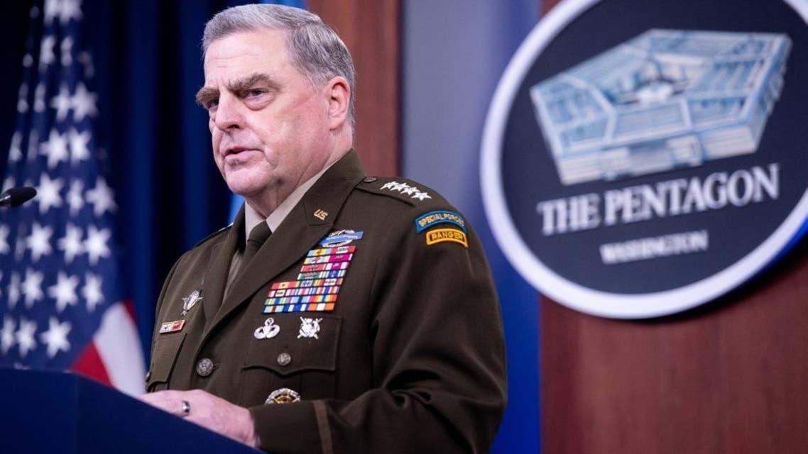 الجنرال مارك أ. ميلي، رئيس هيئة الأركان المشتركة (فرانس برس)