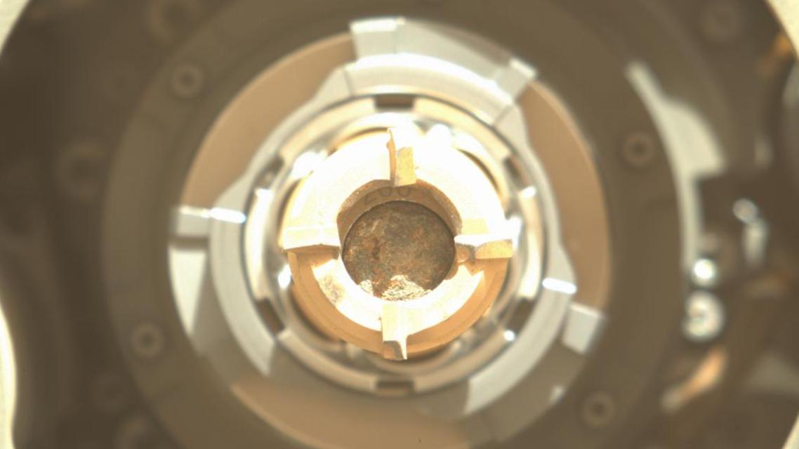 عينة صخرية من المريخ