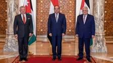 قاہرہ:صدرالسیسی،محمودعباس اورشاہ عبداللہ کا مقبوضہ القدس کی صورت حال پرتبادلہ خیال