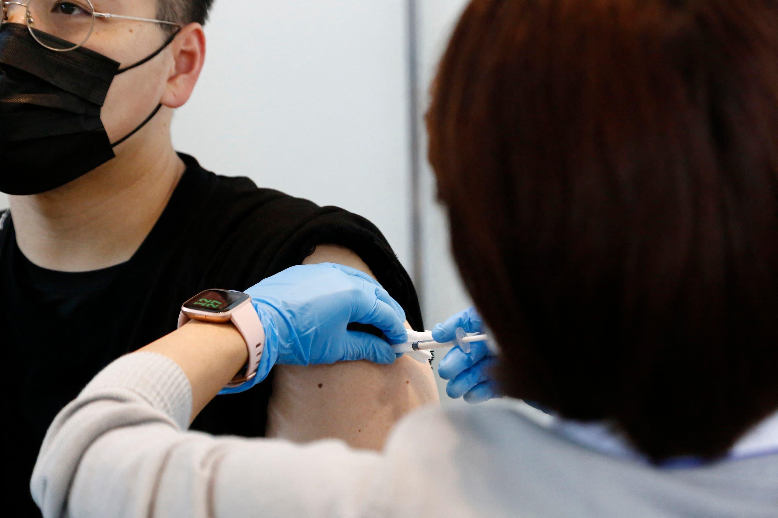 من حملة التطعيم بلقاح موديرنا في اليابان