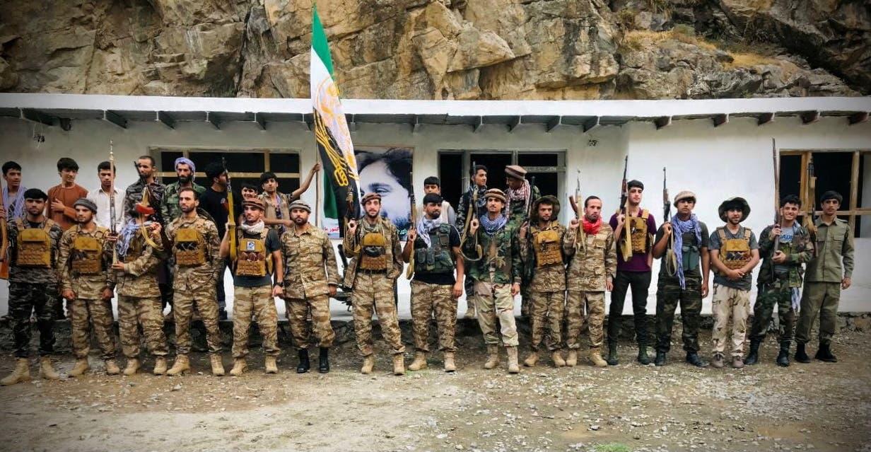 عناصر من جبهة المقاومة الأفغانية (أرشيفية- رويترز)