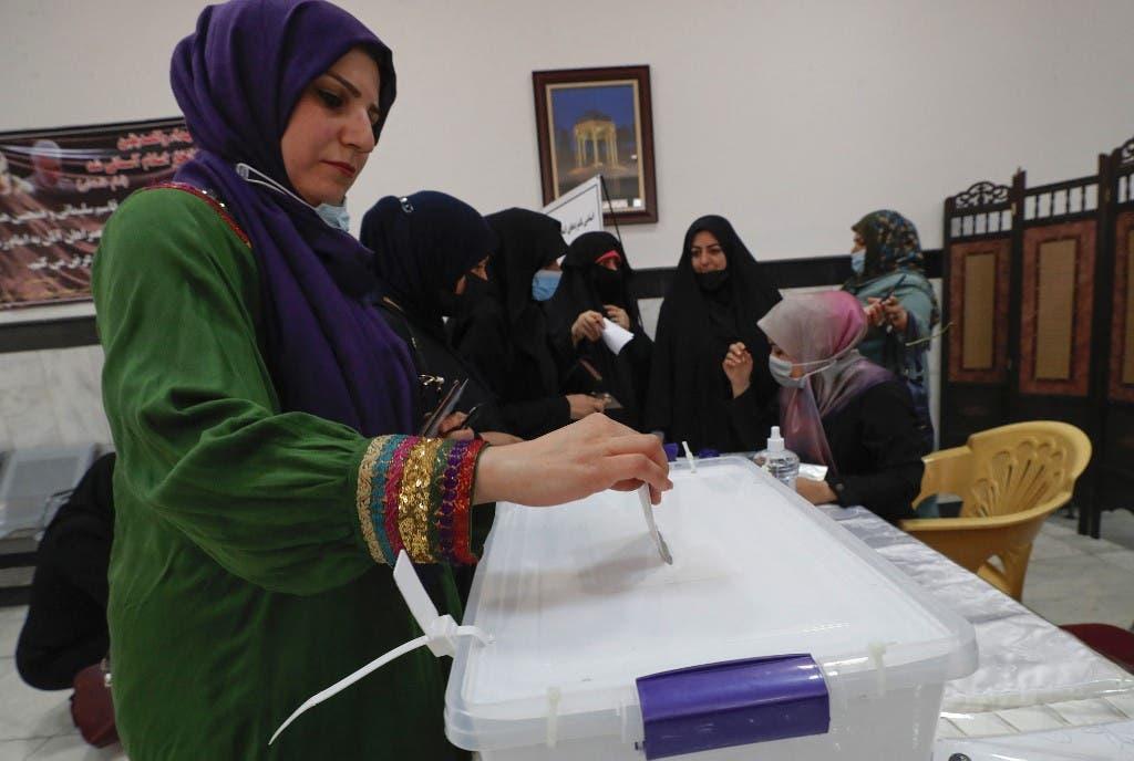 من انتخابات سابقة في العراق (أرشيفية- فرانس برس)