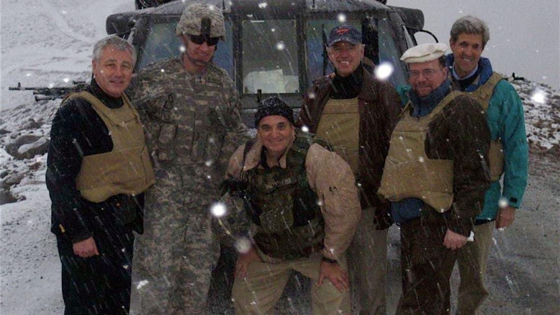 بايدن في أفغانستان عام 2008