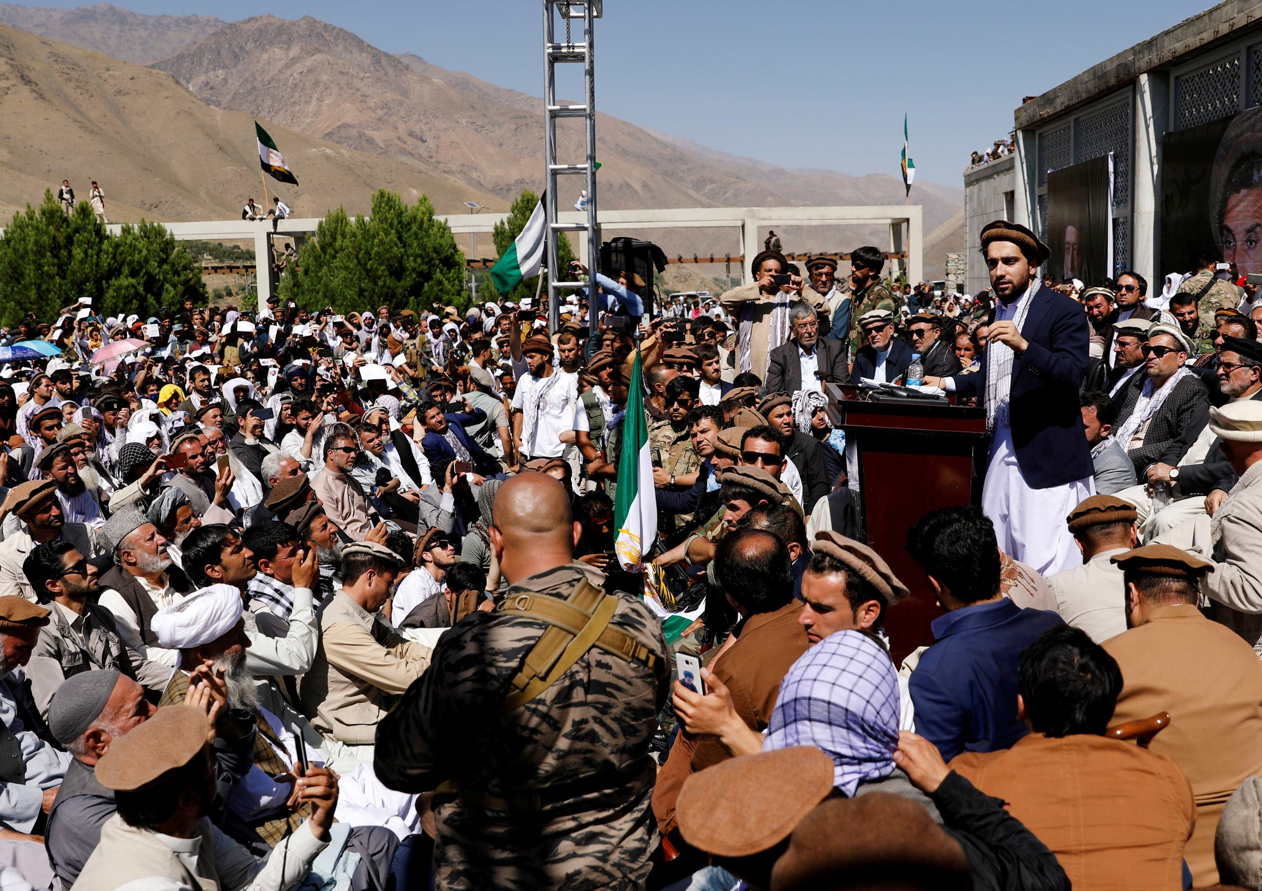 A relative of Ahmed Masoud: the Taliban did not control all of Panjshir