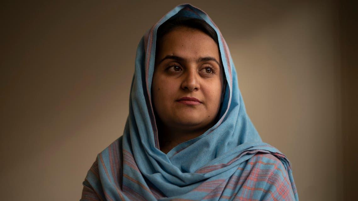 المذيعة الأفغانية بهيشتا أرغاندا(أرشيفية- أسوشييتد برس)