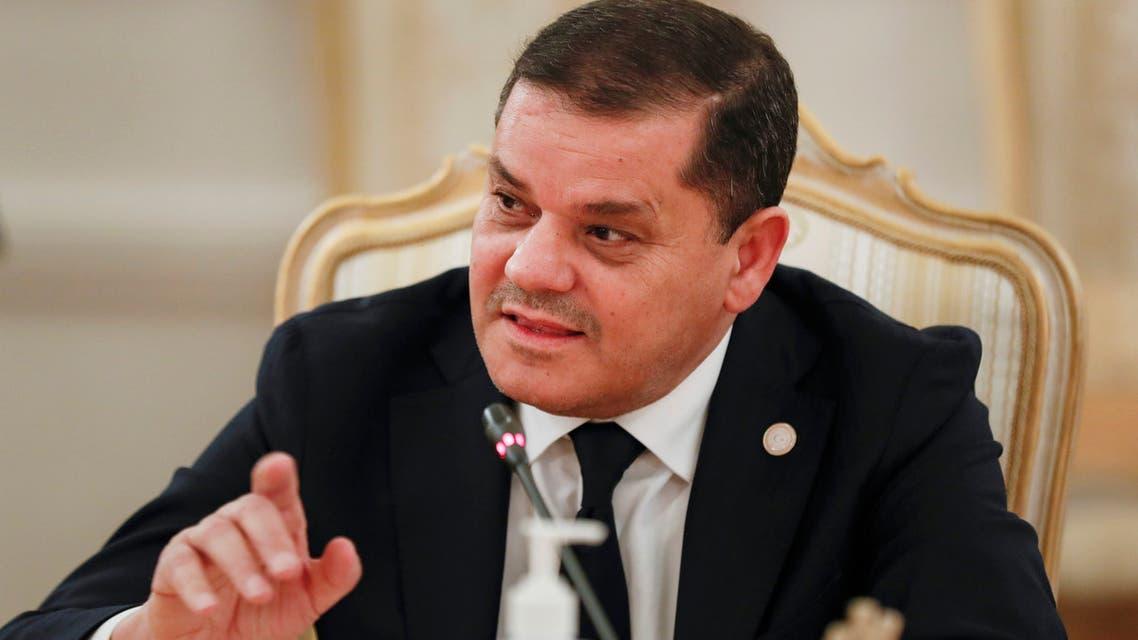رئيس الحكومة الليبية عبد الحميد الدبيبة (أرشيفية- أسوشييتد برس)