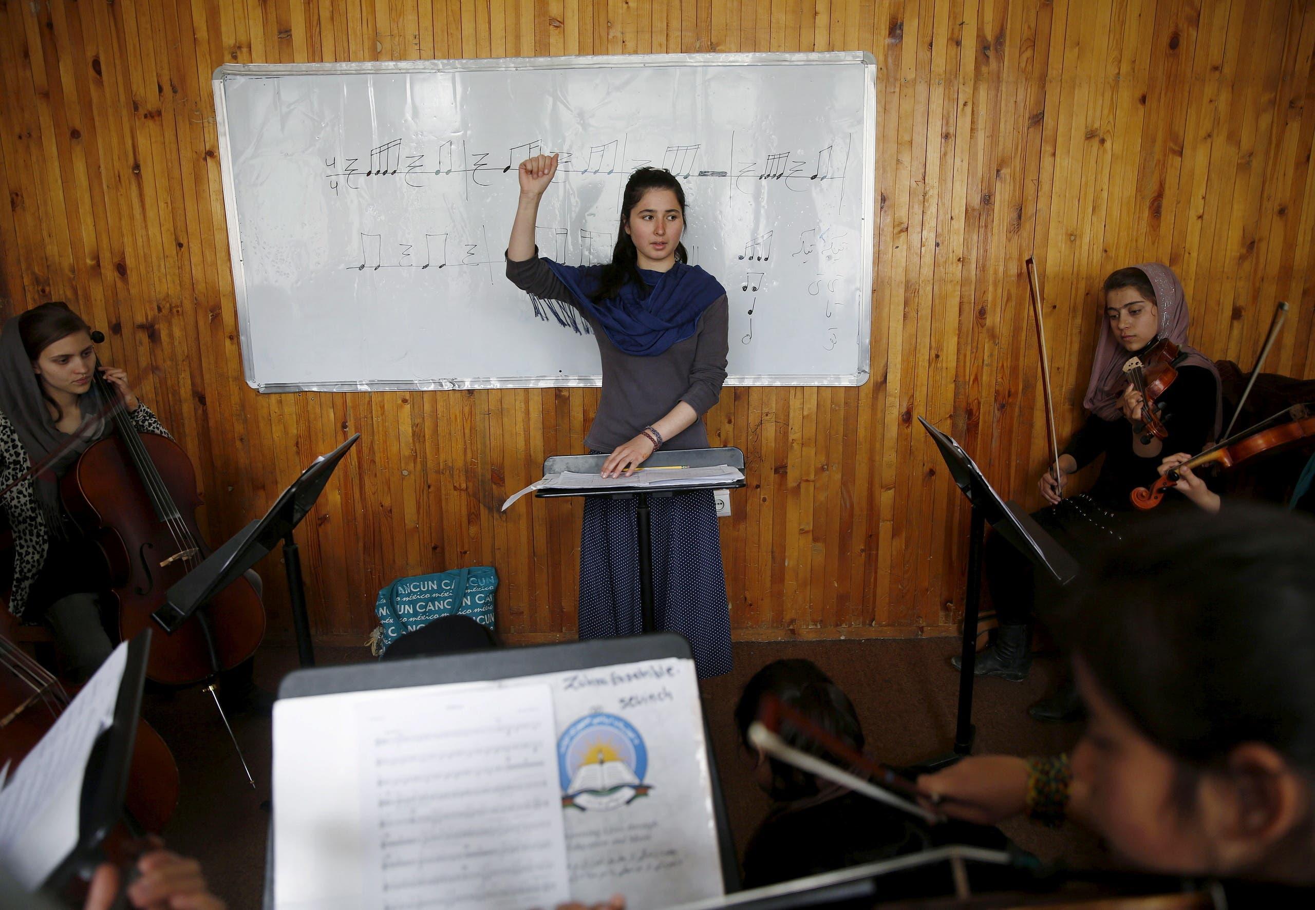 ارکستر زهرا (رویترز)