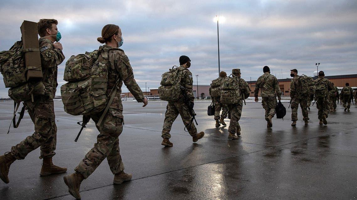 خروج سربازان آمریکایی از افغانستان