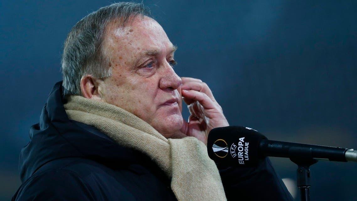 File photo of Iraq football head coach Dick Advocaat. (Reuters)